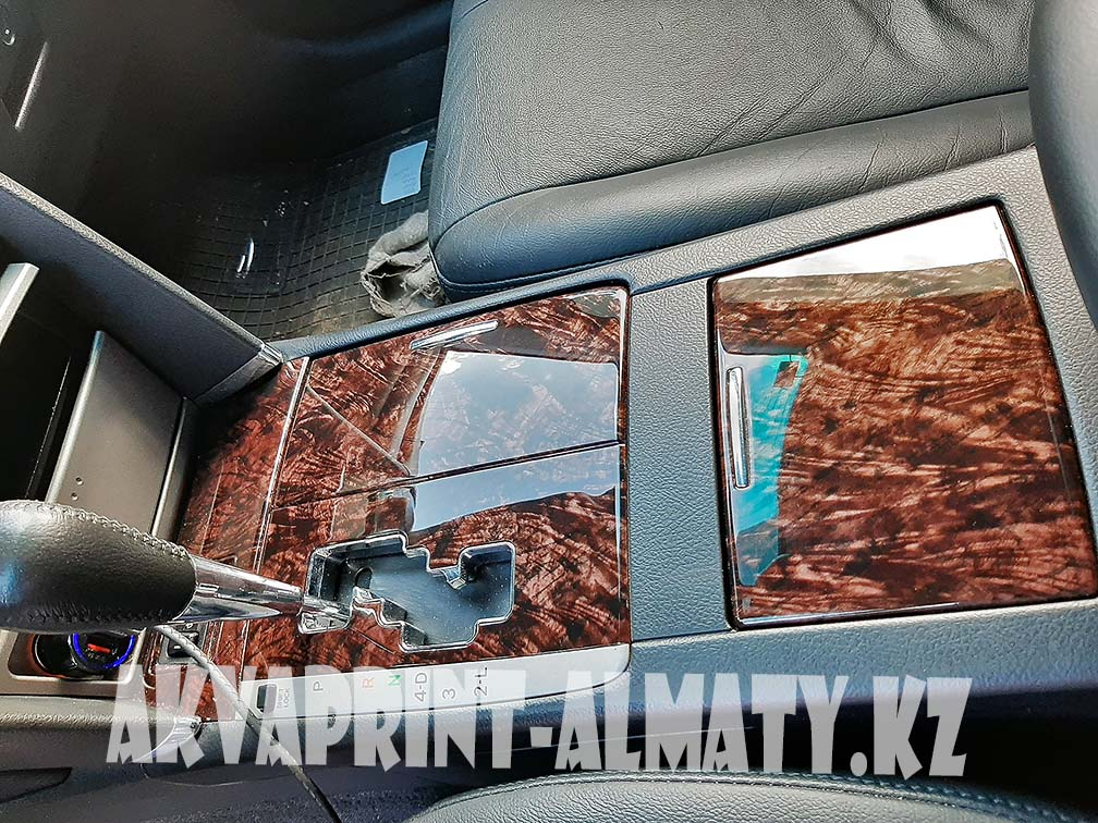 Аквапринт Toyota Camry 40 классическое дерево